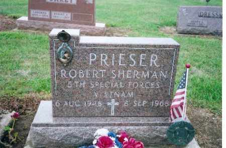 PRIESER, ROBERT SHERMAN - Shelby County, Ohio | ROBERT SHERMAN PRIESER - Ohio Gravestone Photos