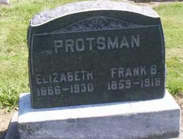 PROTSMAN, FRANK B. - Shelby County, Ohio | FRANK B. PROTSMAN - Ohio Gravestone Photos