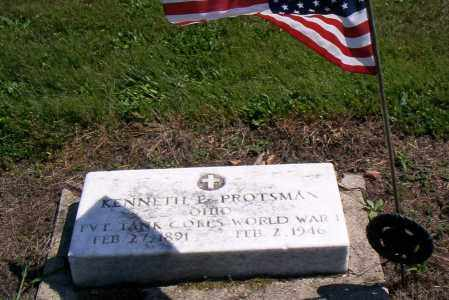 PROTSMAN, KENNETH E. - Shelby County, Ohio | KENNETH E. PROTSMAN - Ohio Gravestone Photos