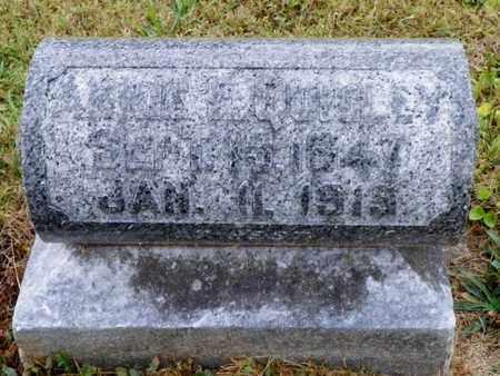 QUIGLEY, ANNIE - Shelby County, Ohio | ANNIE QUIGLEY - Ohio Gravestone Photos