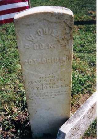 QUILLEN, Q W - Shelby County, Ohio | Q W QUILLEN - Ohio Gravestone Photos