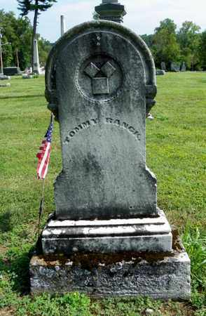 RANCK, TOMMY - Shelby County, Ohio | TOMMY RANCK - Ohio Gravestone Photos
