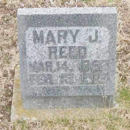 REET, MARY J. - Shelby County, Ohio | MARY J. REET - Ohio Gravestone Photos