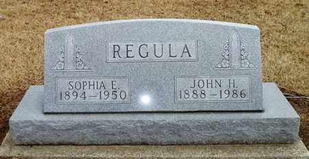 REGULA, SOPHIA E. - Shelby County, Ohio | SOPHIA E. REGULA - Ohio Gravestone Photos