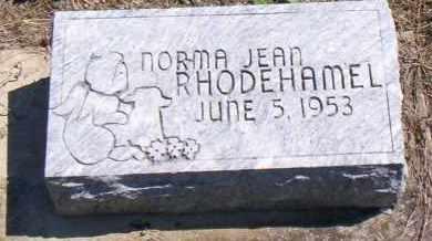 RHODEHAMEL, NORMA JEAN - Shelby County, Ohio | NORMA JEAN RHODEHAMEL - Ohio Gravestone Photos