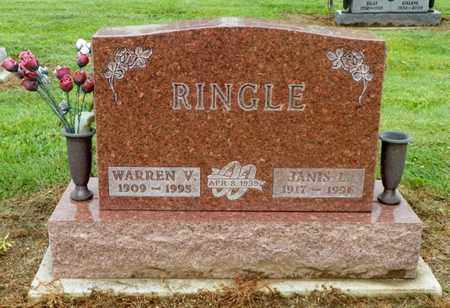 RINGLE, WARREN V. - Shelby County, Ohio | WARREN V. RINGLE - Ohio Gravestone Photos