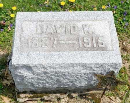 RITCHIE, DAVID W. - Shelby County, Ohio | DAVID W. RITCHIE - Ohio Gravestone Photos