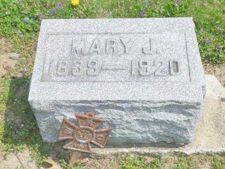 RITCHIE, MARY J. - Shelby County, Ohio | MARY J. RITCHIE - Ohio Gravestone Photos