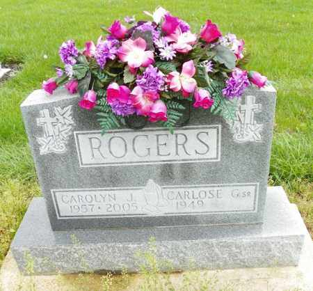 ROGERS, CAROLYN J. - Shelby County, Ohio | CAROLYN J. ROGERS - Ohio Gravestone Photos
