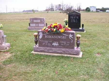ROMANOWSKI, CONSTANCE SUE - Shelby County, Ohio | CONSTANCE SUE ROMANOWSKI - Ohio Gravestone Photos