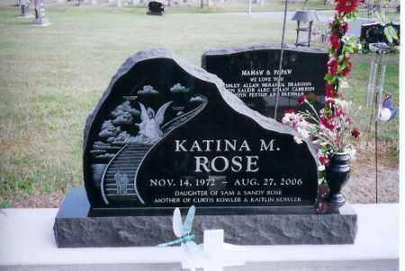 ROSE, KATINA M. - Shelby County, Ohio | KATINA M. ROSE - Ohio Gravestone Photos