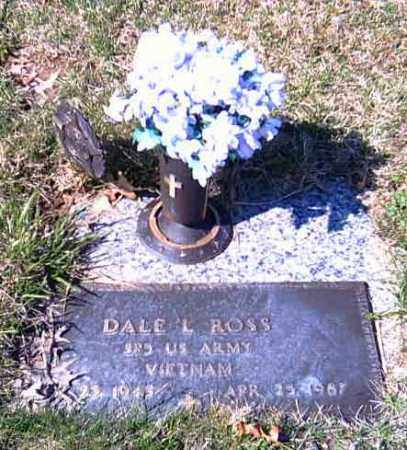 ROSS, DALE L. - Shelby County, Ohio | DALE L. ROSS - Ohio Gravestone Photos