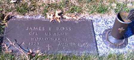 ROSS, JAMES F. - Shelby County, Ohio | JAMES F. ROSS - Ohio Gravestone Photos