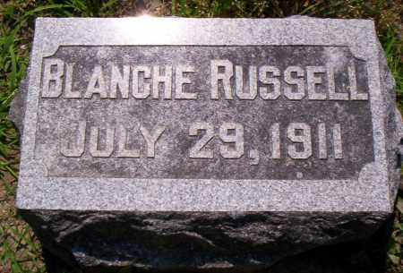 RUSSELL, BLANCHE - Shelby County, Ohio | BLANCHE RUSSELL - Ohio Gravestone Photos