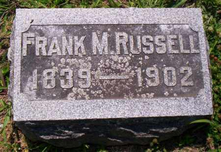 RUSSELL, FRANK M. - Shelby County, Ohio | FRANK M. RUSSELL - Ohio Gravestone Photos