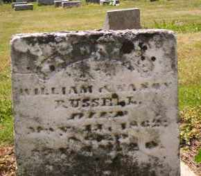 RUSSELL, WILLIAM - Shelby County, Ohio | WILLIAM RUSSELL - Ohio Gravestone Photos