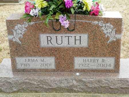 RUTH, HARRY R. - Shelby County, Ohio | HARRY R. RUTH - Ohio Gravestone Photos