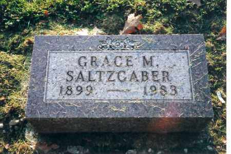 SALTZCABER, GRACE M. - Shelby County, Ohio | GRACE M. SALTZCABER - Ohio Gravestone Photos