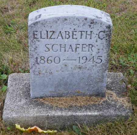 SCHAFER, ELIZABETH C. - Shelby County, Ohio | ELIZABETH C. SCHAFER - Ohio Gravestone Photos