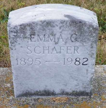 SCHAFER, EMMA C. - Shelby County, Ohio | EMMA C. SCHAFER - Ohio Gravestone Photos