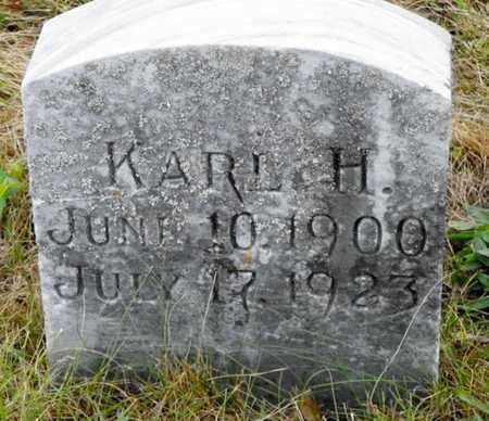 SCHAFER, KARL H. - Shelby County, Ohio | KARL H. SCHAFER - Ohio Gravestone Photos