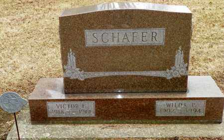 SCHAFER, VICTOR E. - Shelby County, Ohio | VICTOR E. SCHAFER - Ohio Gravestone Photos