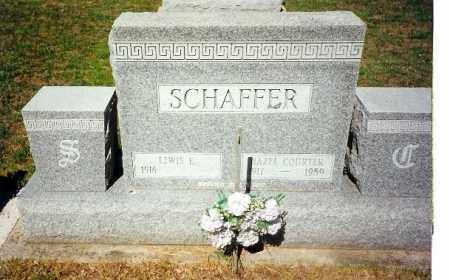 SCHAFFER, LEWIS - Shelby County, Ohio | LEWIS SCHAFFER - Ohio Gravestone Photos