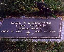 SCHAFFNER, CARL E. - Shelby County, Ohio | CARL E. SCHAFFNER - Ohio Gravestone Photos