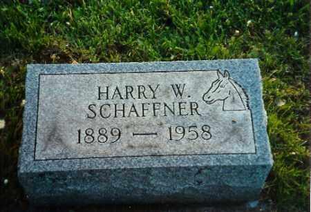SCHAFFNER, HARRY W - Shelby County, Ohio | HARRY W SCHAFFNER - Ohio Gravestone Photos