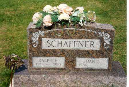 SCHAFFNER, RALPH E. - Shelby County, Ohio | RALPH E. SCHAFFNER - Ohio Gravestone Photos
