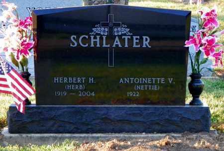 SCHLATER, ANTOINETTE V. - Shelby County, Ohio | ANTOINETTE V. SCHLATER - Ohio Gravestone Photos