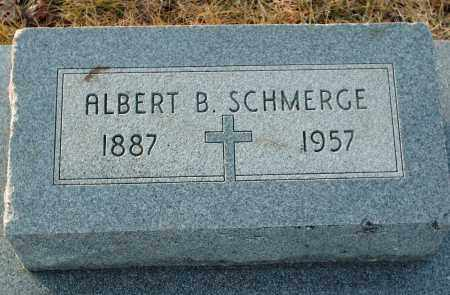 SCHMERGE, ALBERT B - Shelby County, Ohio | ALBERT B SCHMERGE - Ohio Gravestone Photos