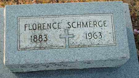 SCHMERGE, FLORENCE - Shelby County, Ohio | FLORENCE SCHMERGE - Ohio Gravestone Photos