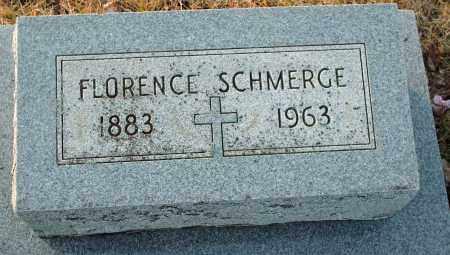 SCHMERGE, FLORENCE - Shelby County, Ohio | FLORENCE SCHMERGE - Ohio Gravestone Photos