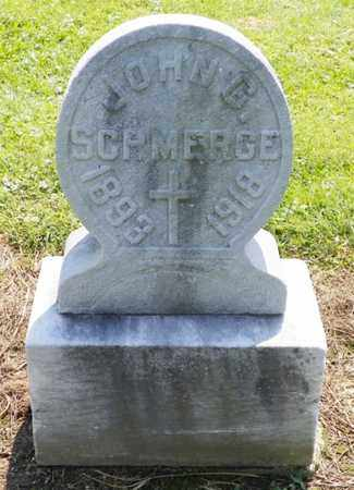 SCHMERGE, JOHN G. - Shelby County, Ohio | JOHN G. SCHMERGE - Ohio Gravestone Photos