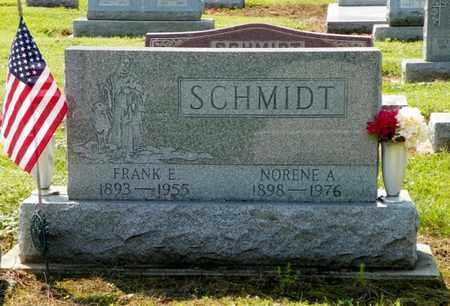 SCHMIDT, FRANK E. - Shelby County, Ohio | FRANK E. SCHMIDT - Ohio Gravestone Photos
