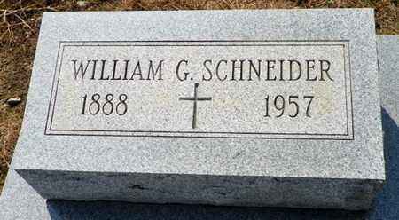SCHNEIDER, WILLIAM G. - Shelby County, Ohio | WILLIAM G. SCHNEIDER - Ohio Gravestone Photos