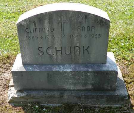 SCHUNK, CLIFFORD - Shelby County, Ohio | CLIFFORD SCHUNK - Ohio Gravestone Photos