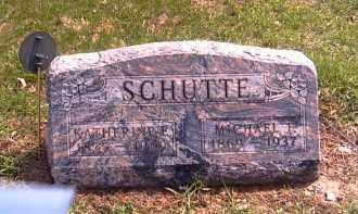 SCHUTTE, KATHERINE E. - Shelby County, Ohio | KATHERINE E. SCHUTTE - Ohio Gravestone Photos