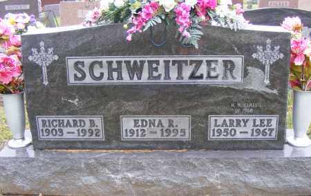 SCHWEITZER, RICHARD  B - Shelby County, Ohio | RICHARD  B SCHWEITZER - Ohio Gravestone Photos