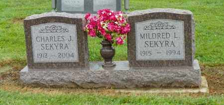 SEKYRA, MILDRED L. - Shelby County, Ohio | MILDRED L. SEKYRA - Ohio Gravestone Photos