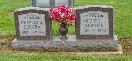 SEKYRA, CHARLES J. - Shelby County, Ohio | CHARLES J. SEKYRA - Ohio Gravestone Photos