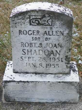 SHADOAN, ROGER ALLEN - Shelby County, Ohio | ROGER ALLEN SHADOAN - Ohio Gravestone Photos