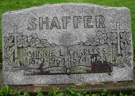 SHAFFER, MINNIE L. - Shelby County, Ohio | MINNIE L. SHAFFER - Ohio Gravestone Photos
