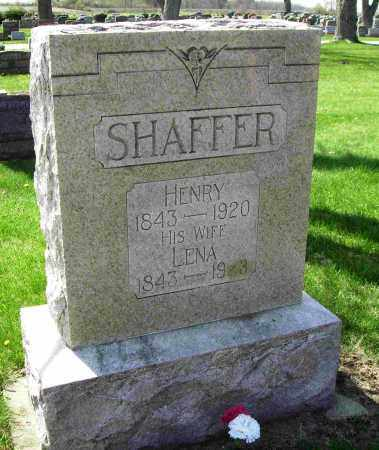 "MANN SHAFFER, MAGDALENA ""LENA"" - Shelby County, Ohio 