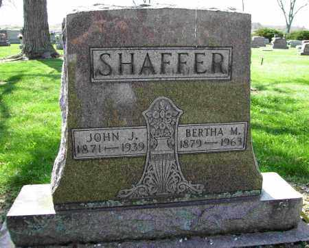 SHAFFER, JOHN J. - Shelby County, Ohio | JOHN J. SHAFFER - Ohio Gravestone Photos