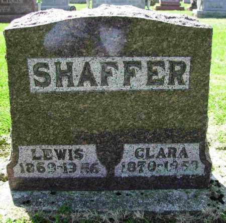 SHAFFER, CLARA - Shelby County, Ohio | CLARA SHAFFER - Ohio Gravestone Photos