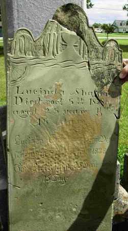 SHAFFER, LUCINDA - Shelby County, Ohio | LUCINDA SHAFFER - Ohio Gravestone Photos
