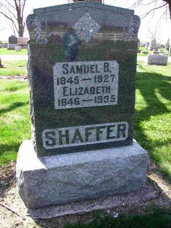 SHAFFER, SAMUEL B. - Shelby County, Ohio | SAMUEL B. SHAFFER - Ohio Gravestone Photos