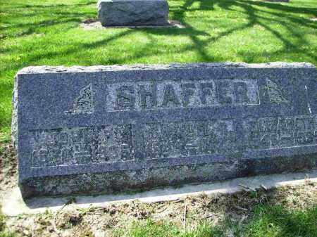 SHAFFER, ELIZABETH - Shelby County, Ohio | ELIZABETH SHAFFER - Ohio Gravestone Photos